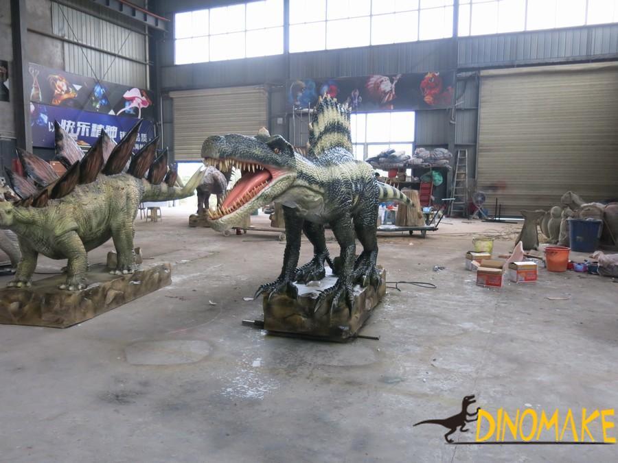 Life-size Realistic Animatronic Dinosaur Spinosaurus dinosaur