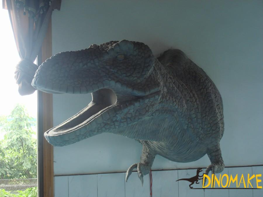 Life-size attractive mechanical Animatronic dinosaur product