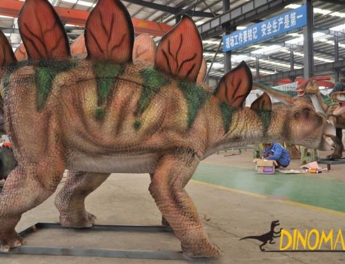 Life-size robot mechanical real Animatronic dinosaur