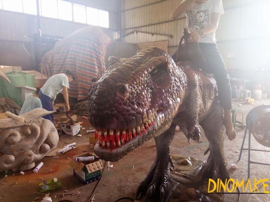 Life-sized T-Rex Animatronic dinosaur model for sale