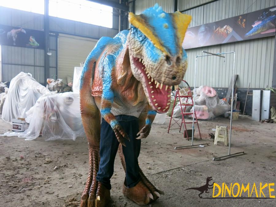 Lightweight Animatronic Dinosaur Costume Walking Set Game