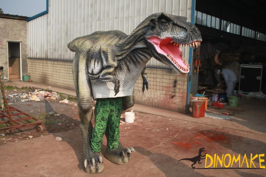 New Realistic walking dinosaur costume product