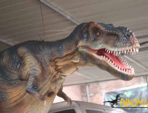 T-Rex Dinosaur Costume for sale at the factory
