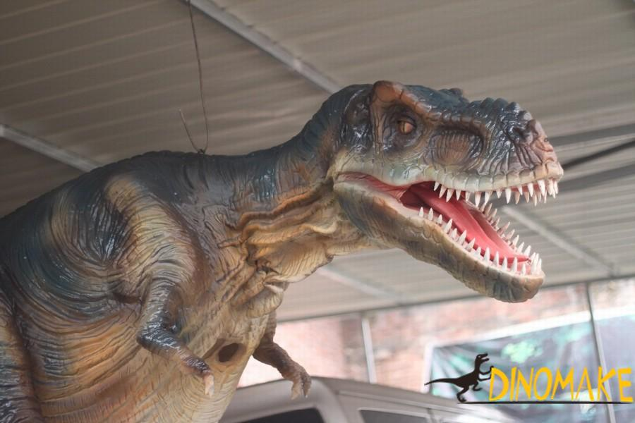 New T-Rex Dinosaur Costume for sale at the factory