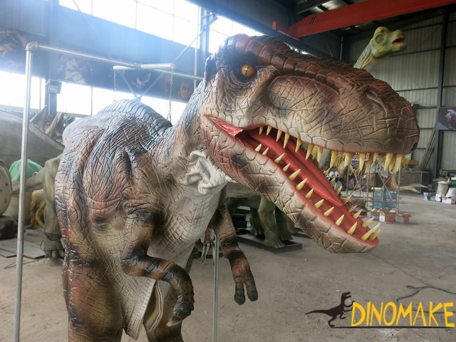 New design for realistic dinosaur costume t-rex