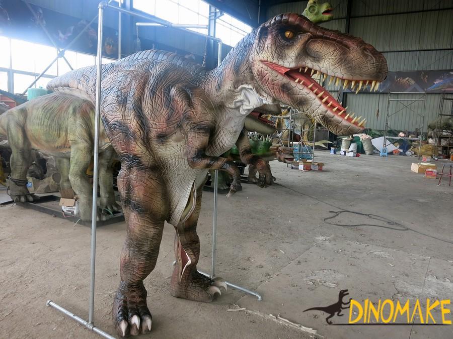 New design for realistic dinosaur costume
