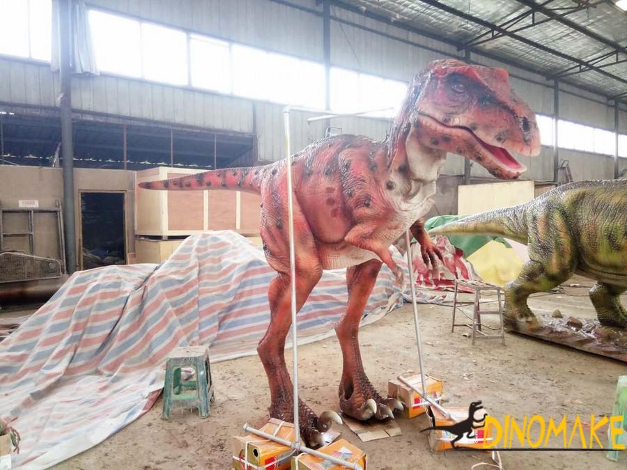 New design for realistic dinosaur costumes T-rex