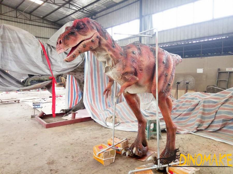New design for realistic dinosaur costumes