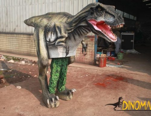 New upgraded walking dinosaur costume in The USA