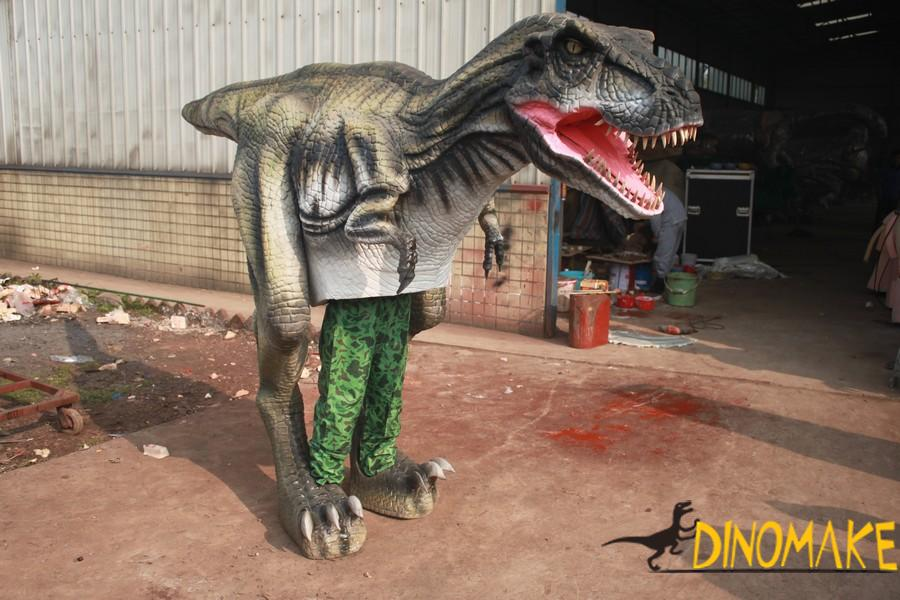 New upgraded walking dinosaur costume in USA