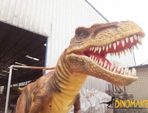Newly T-Rex dinosaur costume operated