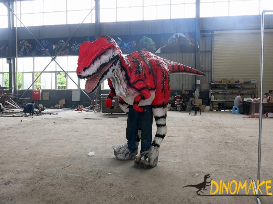 Newly upgraded walking dinosaur costume in USA