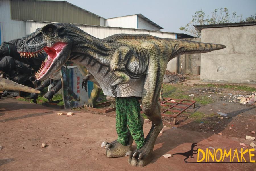 Newly upgraded walking dinosaur costumes