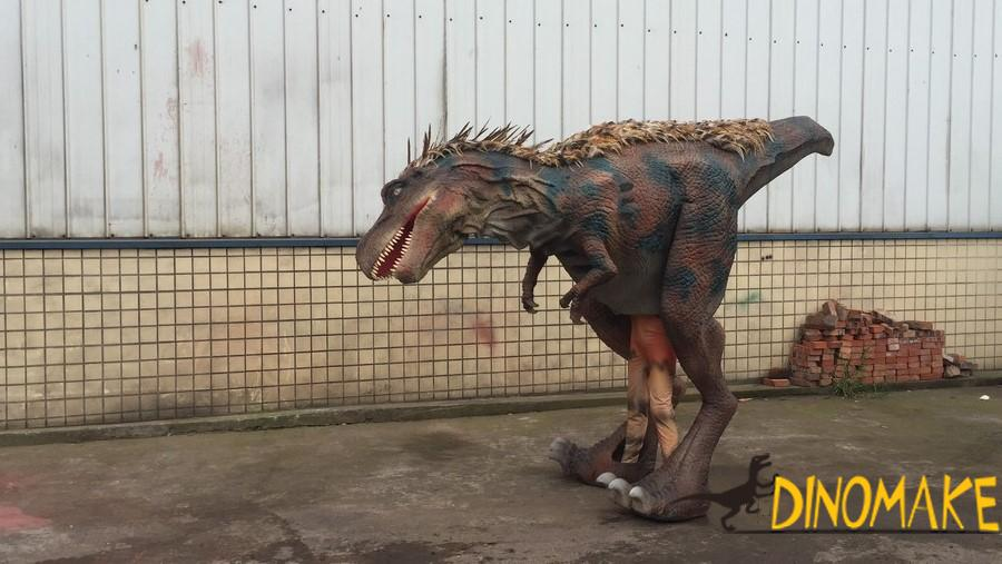 Our dinosaur costumes are sold throughout the Halloween season