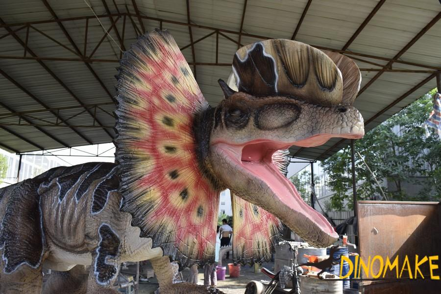 Outdoor entertainment custom Animatronic dinosaur Robot