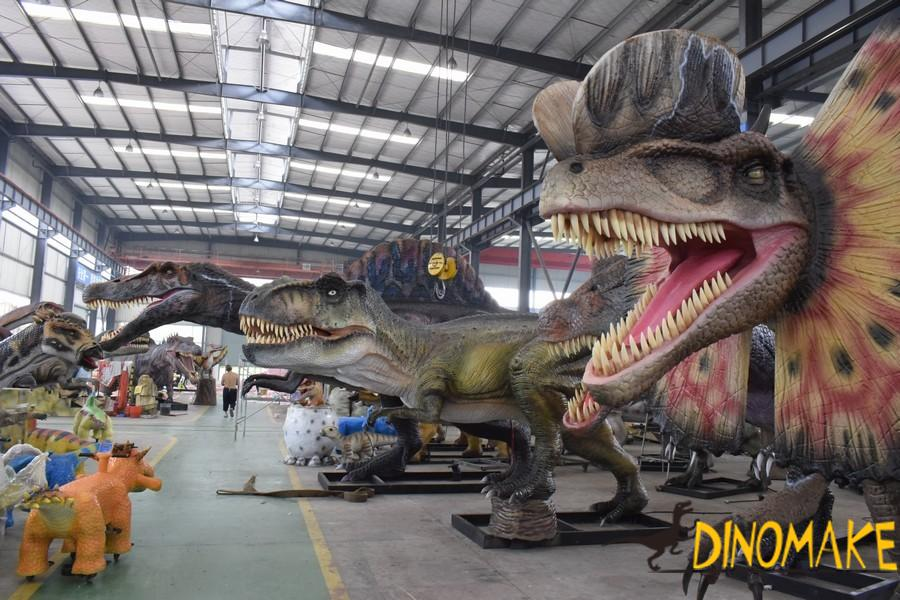 Outdoor entertainment custom Animatronic dinosaurs Robot
