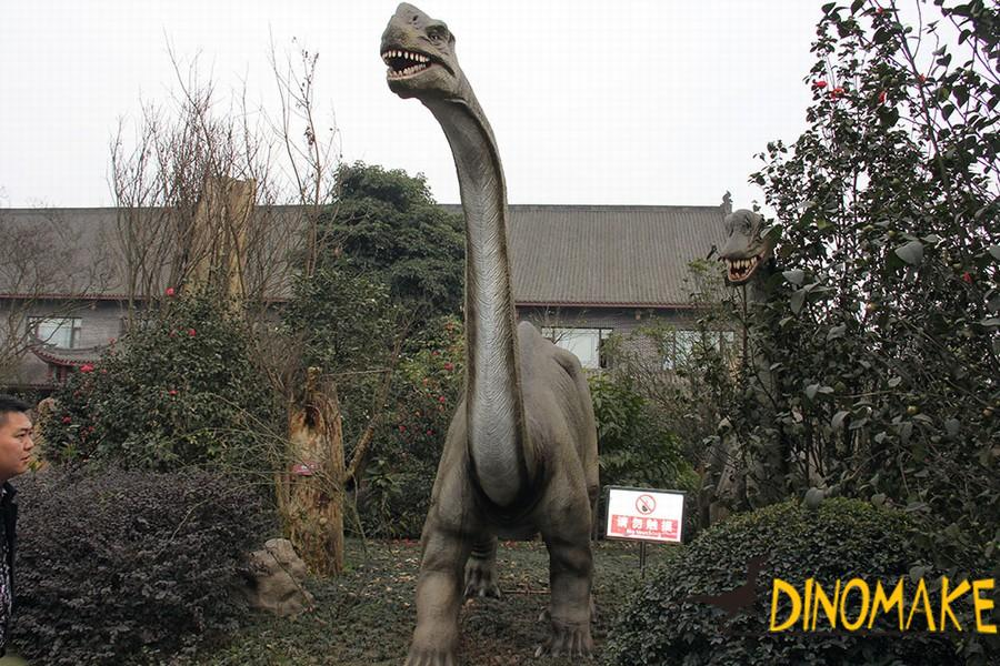 Outdoor exhibition life-size Animatronic dinosaur