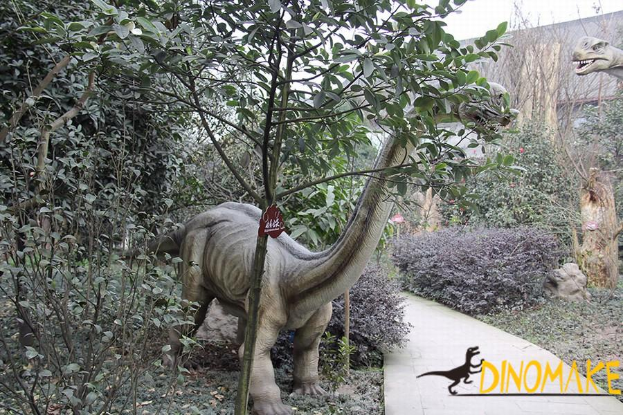 Outdoor exhibition life-size Animatronic dinosaurs