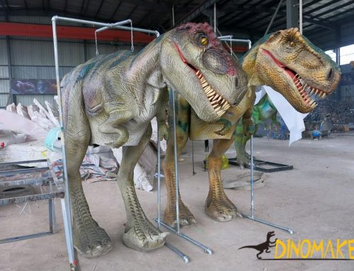 Outdoor large size mechanical dinosaur Costume from models