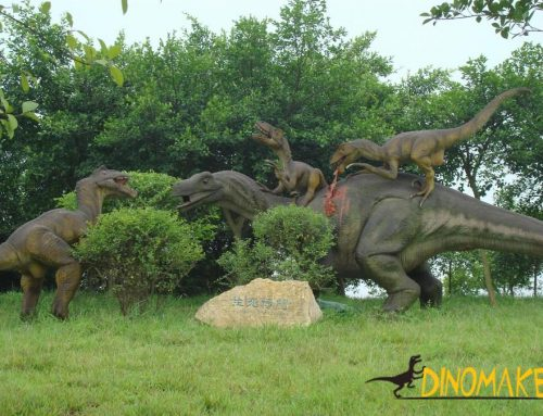 Outdoor park Animatronic dinosaur model for sale