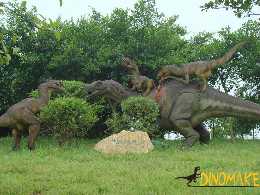 Outdoor park Animatronic dinosaur model for sale