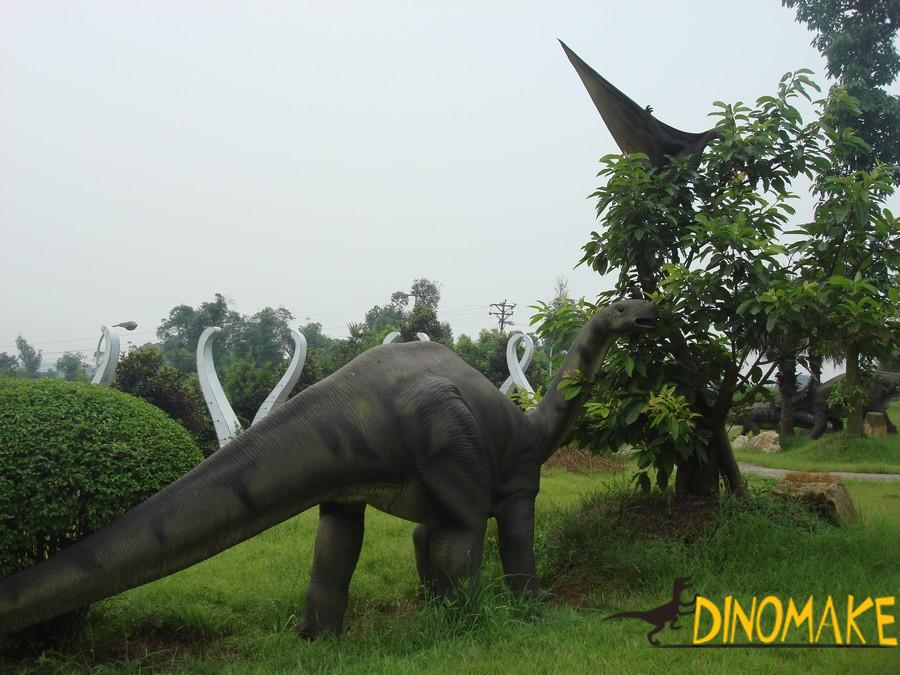 Outdoor park Animatronic dinosaur models for sale