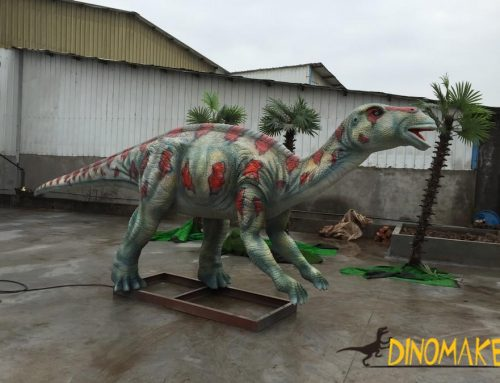 Outdoor playground equipment Animatronic Dinosaur for Sale