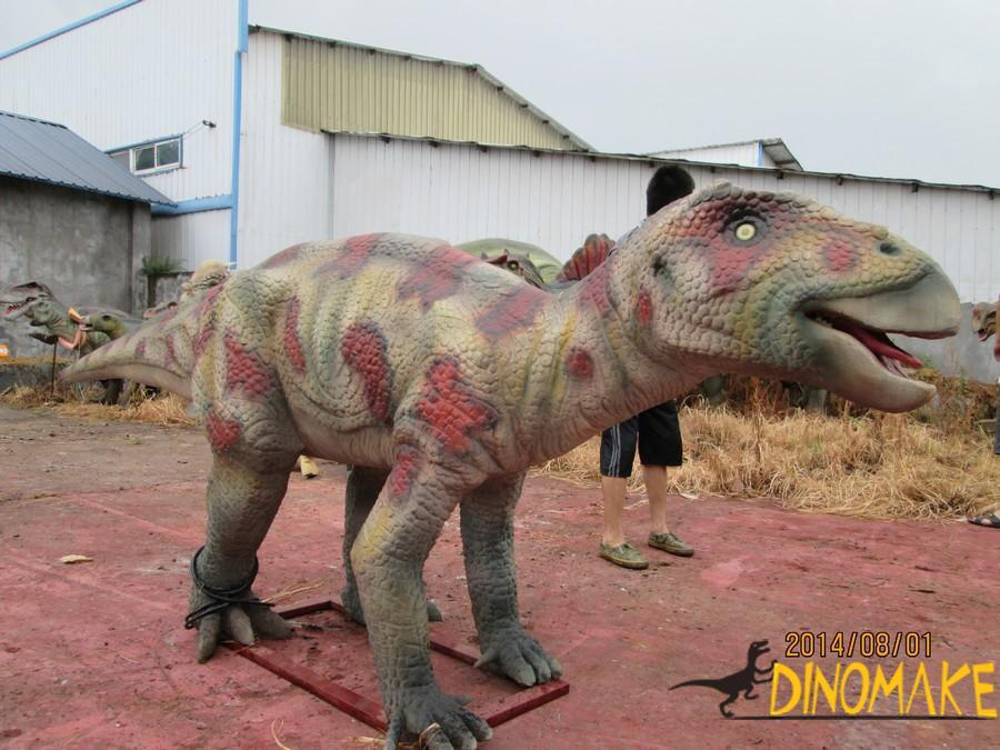 Outdoor playground equipment Animatronic Dinosaurs