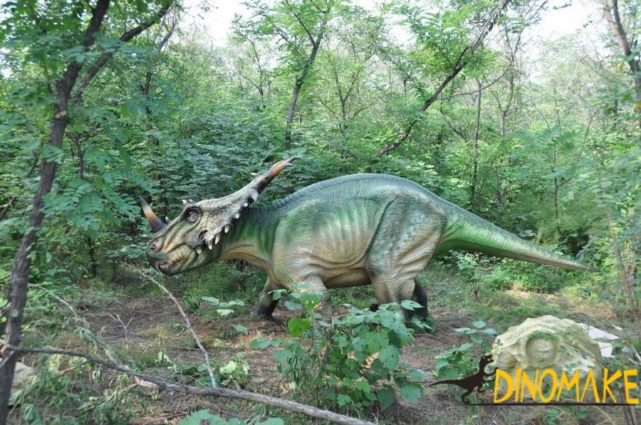 Outdoor playground handmade Animatronic dinosaur