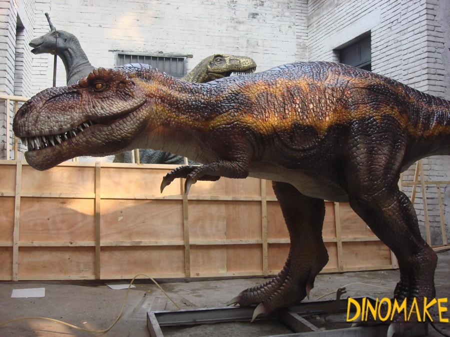 Outdoor playground model Animatronic Dinosaur for sale