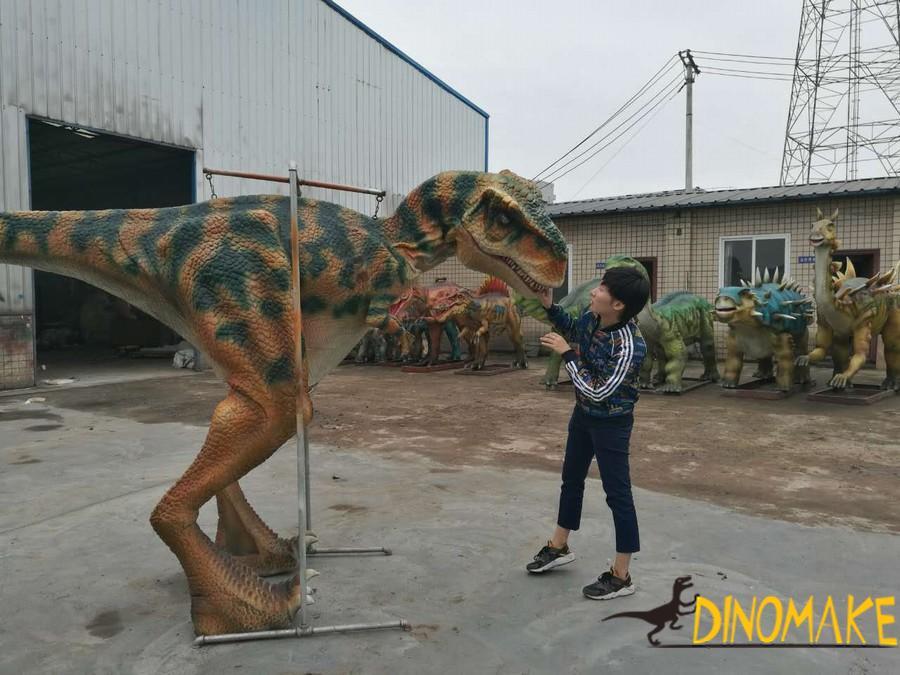 Outdoor playground model Animatronic dinosaur Costume for sale