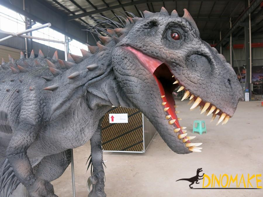 Outdoor playground model animatronic dinosaur Costumes for sale