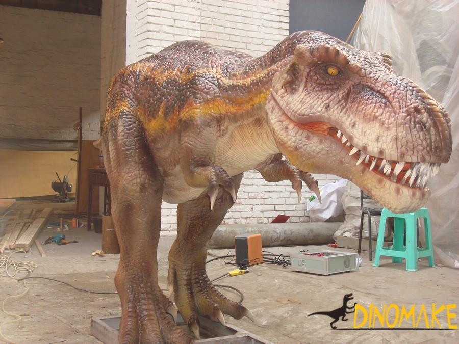 Outdoor playground models Animatronic Dinosaur for sale