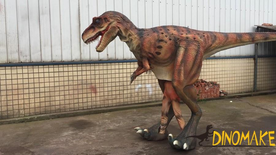 Outdoor playground models animatronic dinosaur Costume for sale