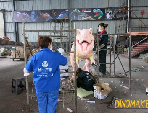Playground decoration high quality realistic Animatronic dinosaur