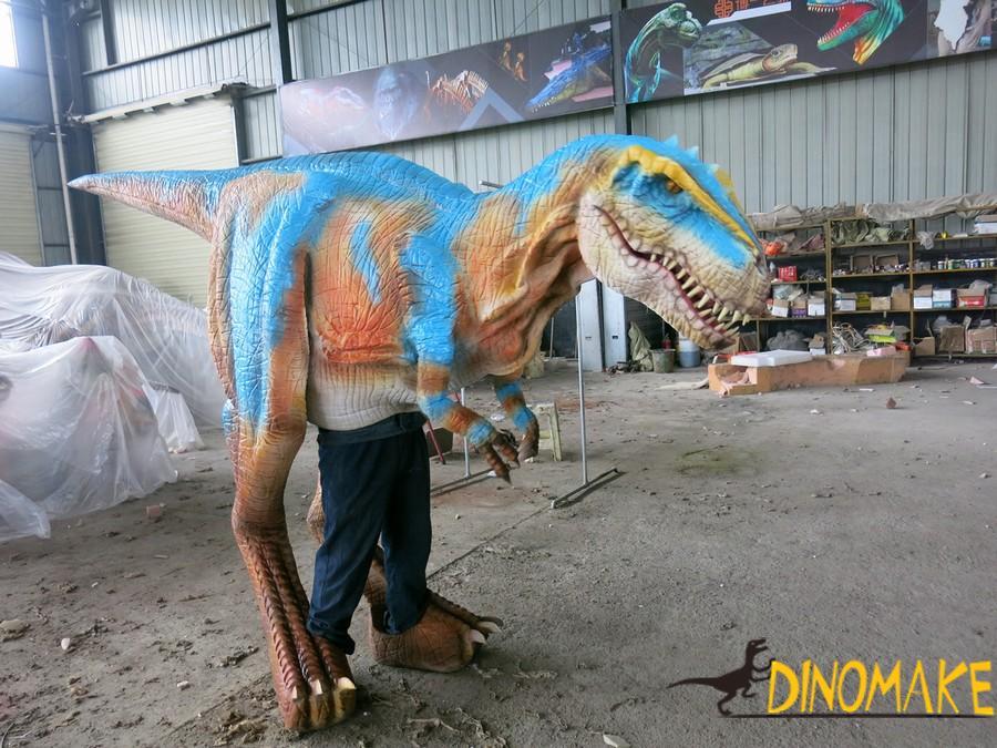 Playground decoration high quality realistic Animatronic dinosaurs