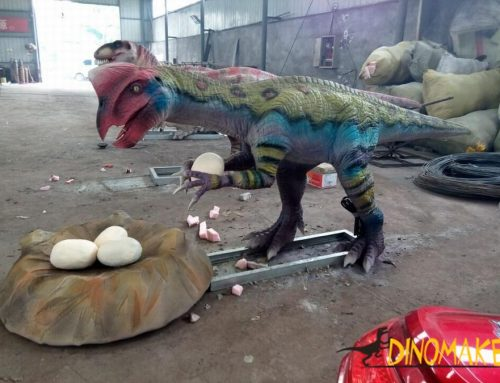 The Real Animatronic Dinosaur Kingdom