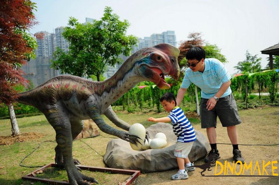 Real Animatronic Dinosaurs Kingdom