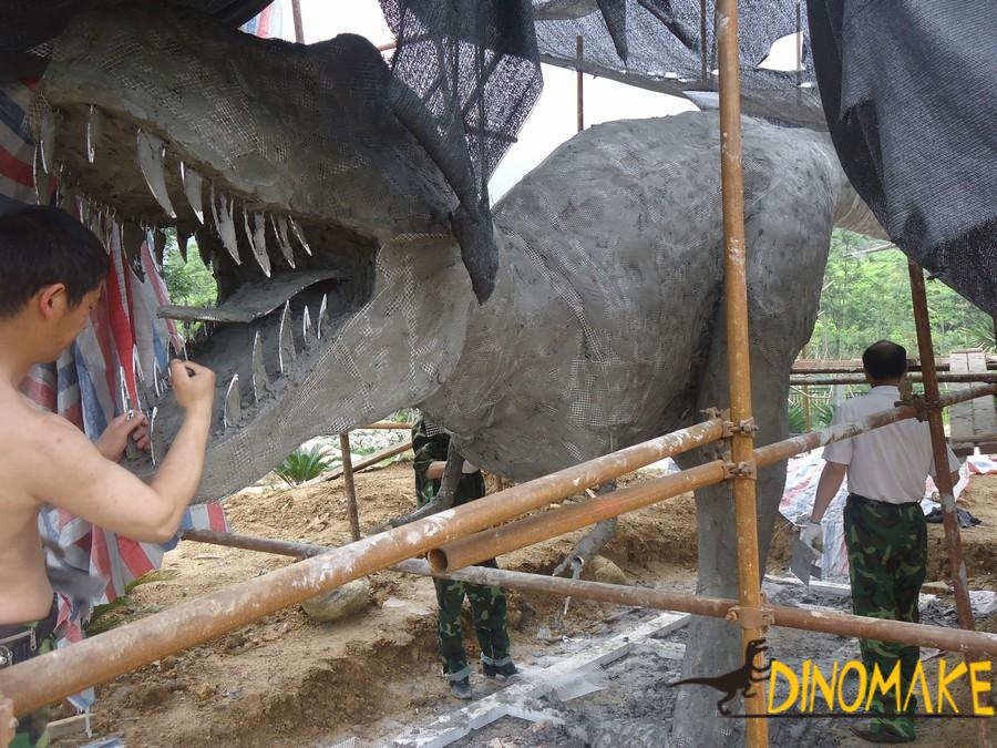 Real Animatronic Dinosaurs model of the dinosaur factory