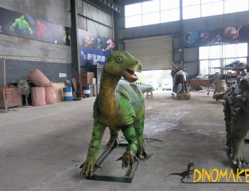 Real estate promotion plan chooses Animatronic dinosaur