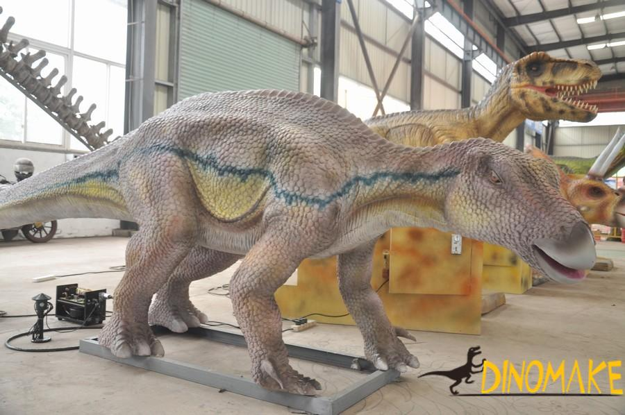 Real Animatronic dinosaur for amusement equipment