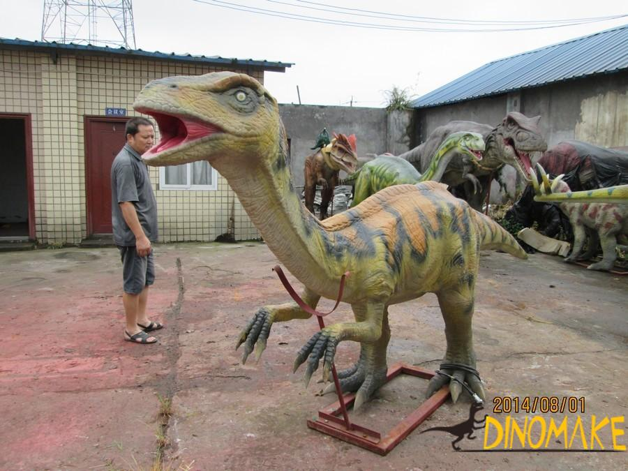 Real Animatronic dinosaur party in China