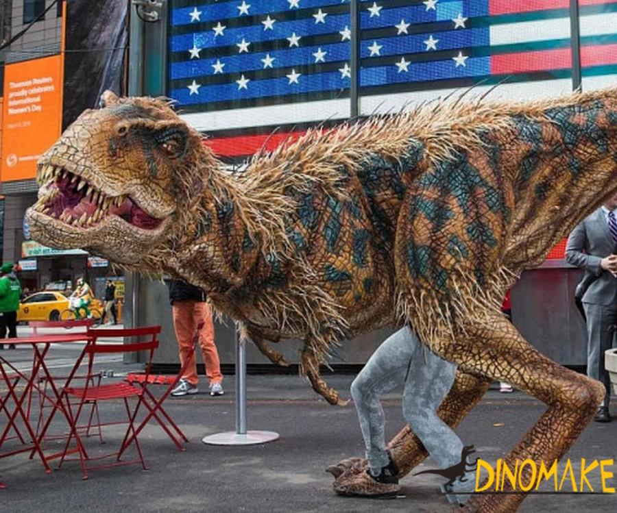 Real T-Rex Dinosaur Costume for sale at the factory