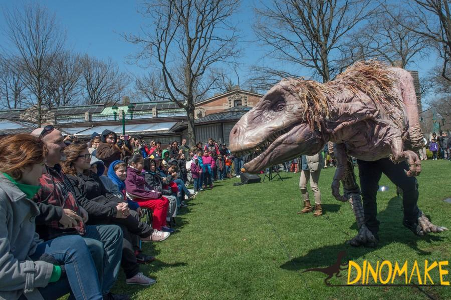 Real adult walking Animatronic dinosaur costume
