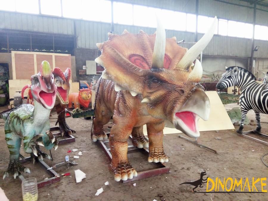 Real movie dinosaur props artificial walking Animatronic Dinosaur