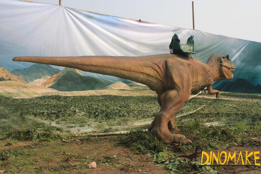 Real size Animatronic dinosaur ride