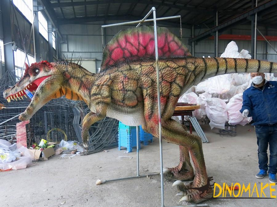 Realistic Animatronic Dinosaur Costume T-Rex model for theme park