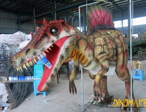 Super realistic dinosaur costume adult dinosaur puppet
