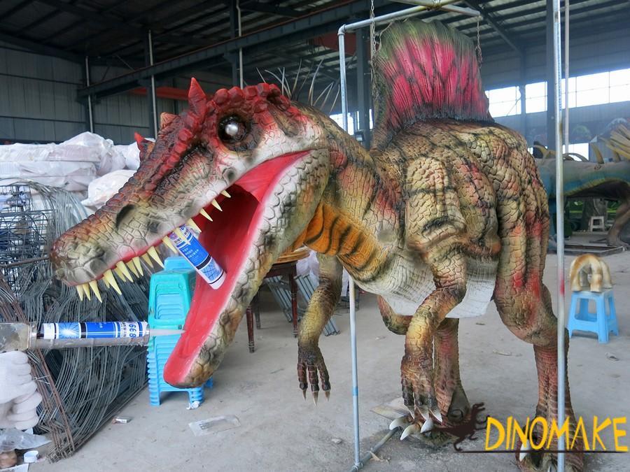 Realistic Animatronic dinosaur costume adult dinosaur puppet