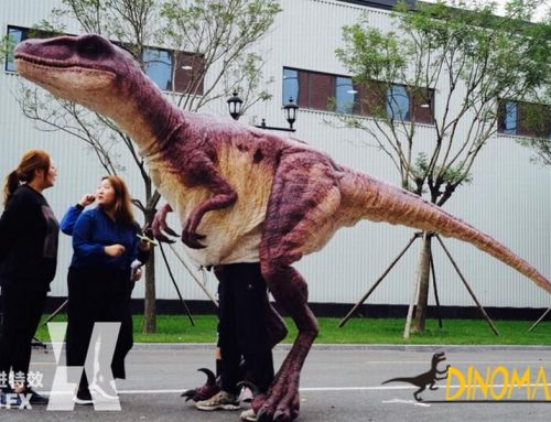 Realistic Animatronic dinosaur costumes for sale